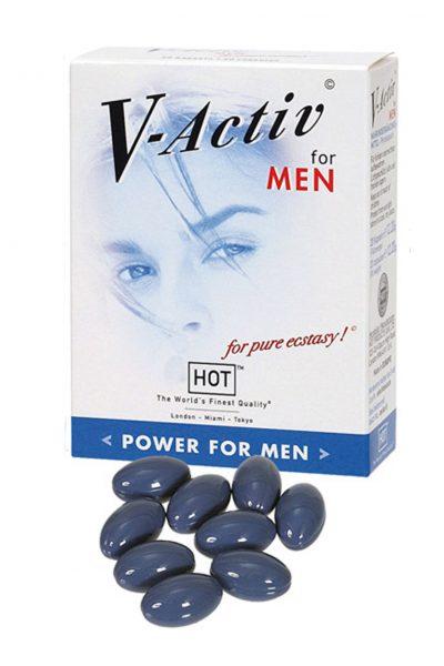 Supl.diety-V-Activ Caps for Men- 20caps