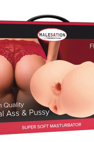 MALESATION Masturbator Real Ass + Pussy