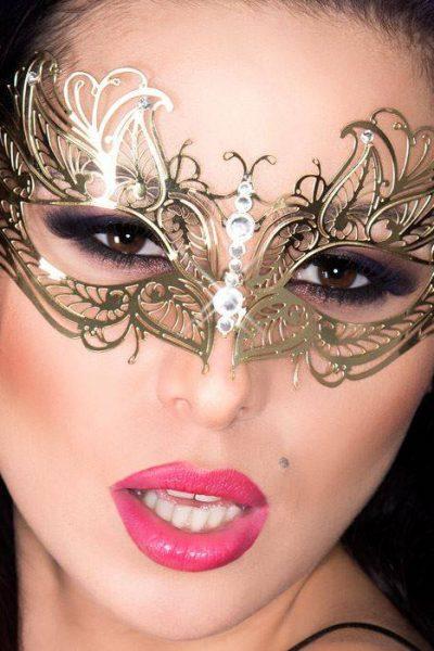 Tajemnicza maska chili-CR 3806 Złoty
