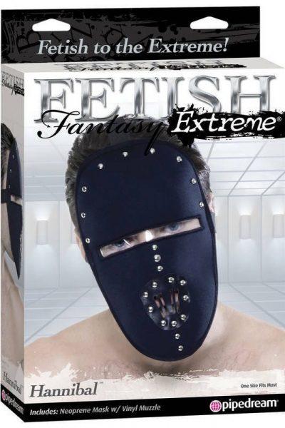 Ostra fetyszowa maska Hannibal Mask