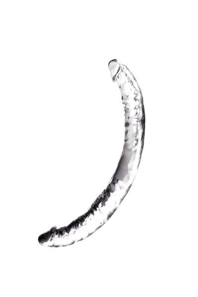 Dildo Jelly Joy Twin Cobra Clear Double Dong