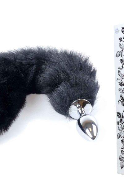 Wtyczka lisa ogon-czarna XL