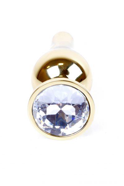 Plug-Jewellery Gold BUTT PLUG