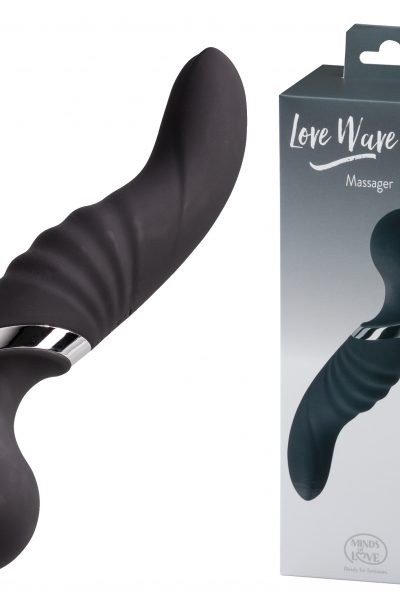 MINDS of LOVE Love Wave Massager black