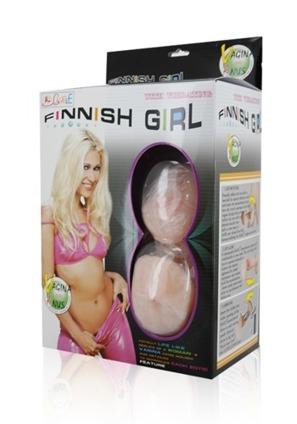 Realistyczna dmuchana lalka miłości Finnish Girl.