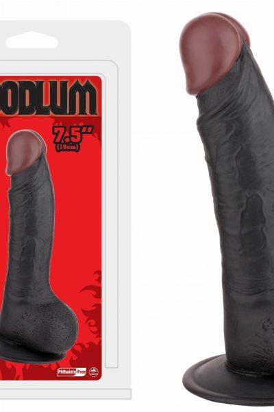Penis Realistic  7,5″ czarny